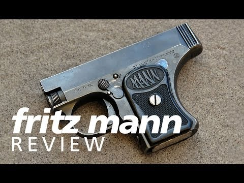 Review: Fritz Mann 25acp pocket pistol - Yes. it's supposed to bulge cases