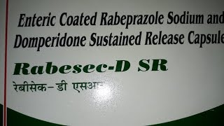 Rabesec D SR capsule review | uses | side effects | how to use | how it works