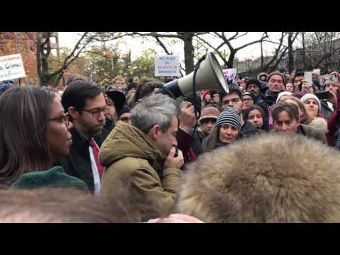 Beastie Boys - @adrock Ad-Rock speaking at Adam Yauch Park 11/20/16 Stand Up Against Hate Rally