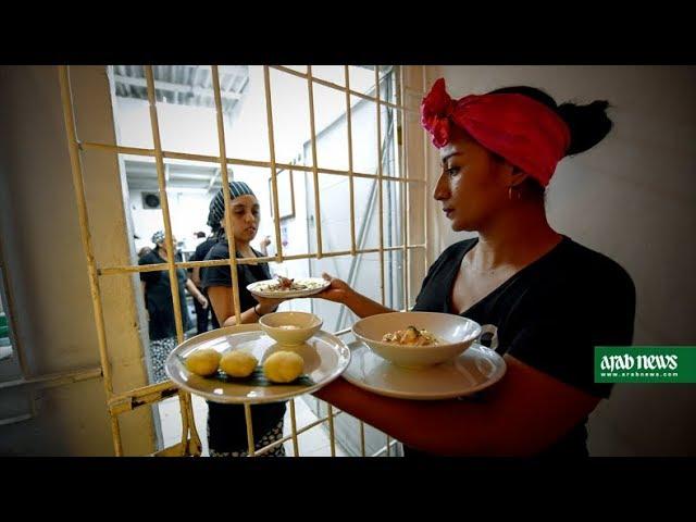 A taste of freedom in a Colombian women's prison