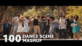 Video clip 100 Movies Dance Scenes Mashup (Mark Ronson-Uptown Funk ft.Bruno Mars)-WTM