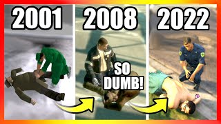 Evolution of PARAMEDICS LOGIC in GTA Games (2001-2020)