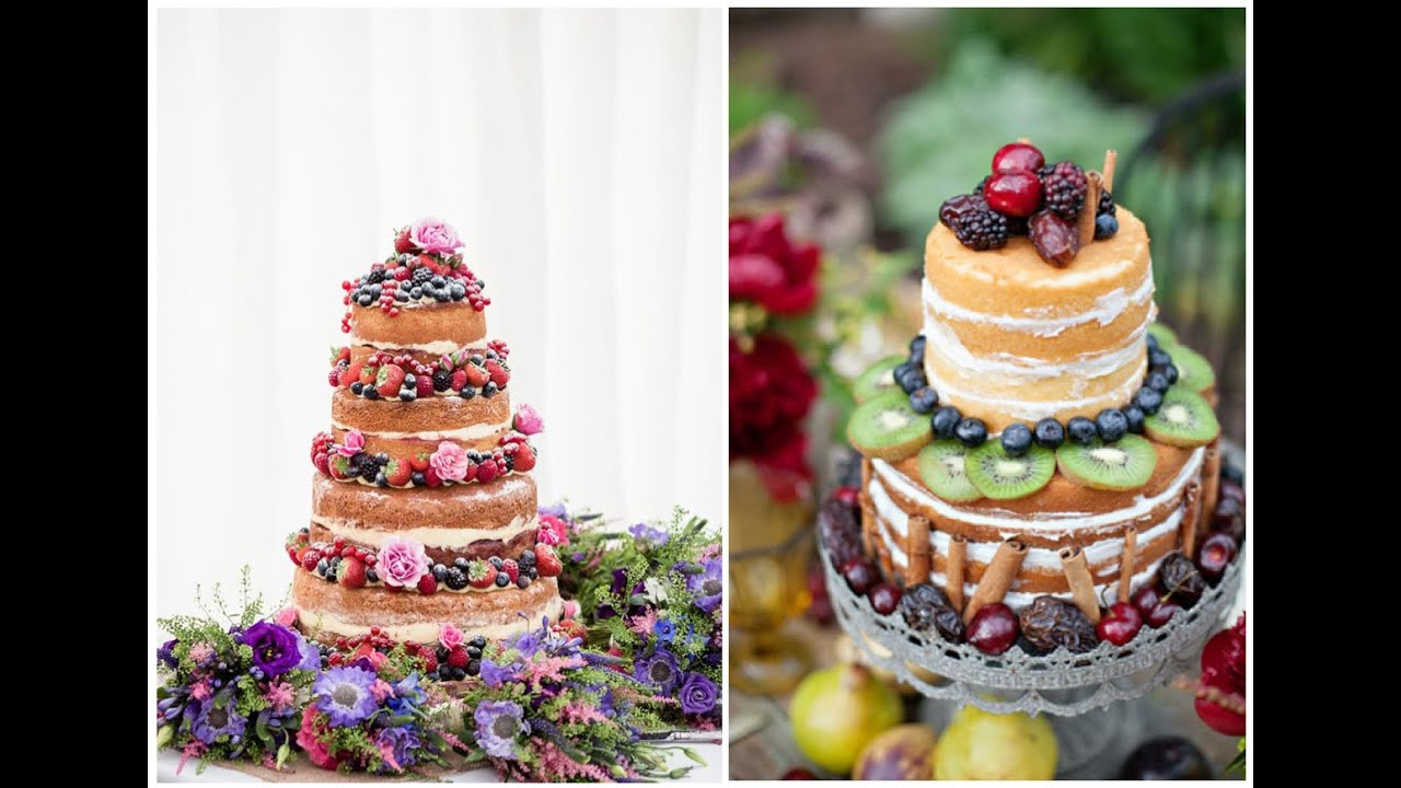best of 2013 top naked wedding cakes   youtube