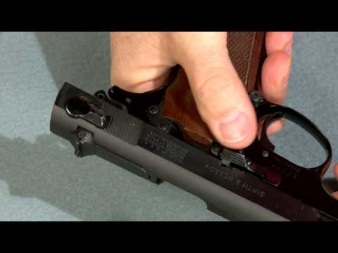 Firearm Safety - Know Your Firearm: Semi-Automatic Pistol - Gun Safety and Hunter Safety