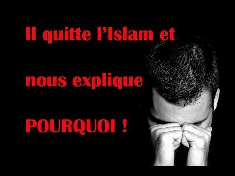 Un musulman quitte l'Islam, il explique POURQUOI !