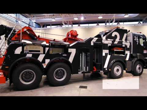 The 24/7 roadside assistance by Renault Trucks