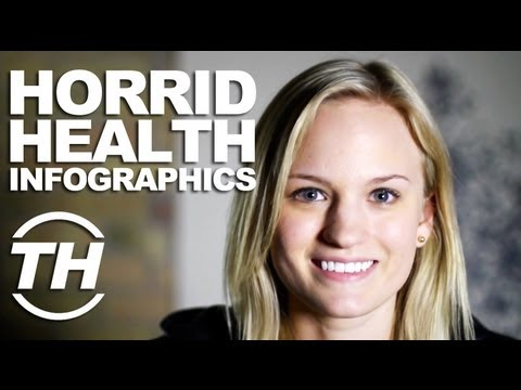 Horrid Health Infographics: Courtney Scharf s Health Infographics Interview is Deliciously Scary