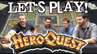 Let's Play! - Hero Quest by Milton Bradley and Games Workshop (1989) #TBT