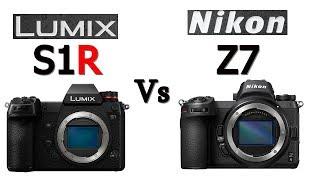 Panasonic Lumix S1R vs Nikon Z7 Camera Comparison