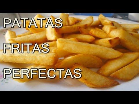PAPAS O PATATAS FRITAS CRUJIENTES - CRISPY FRENCH FRIES - recetas de cocina faciles y economicas