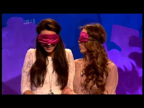 HILARIOUS! Michelle Keegan & Adele Silva play 'I'm Coming!' Celebrity Juice HD