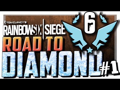 Road To Diamond Season 2 Premiere! | Rainbow Six Siege