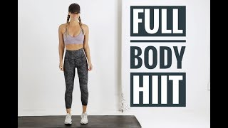 30 Minute FULL BODY HIIT Workout // No Equipment