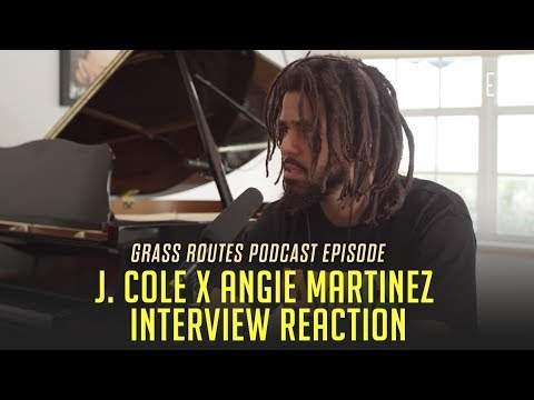 Reaction to J. Cole's Kanye Comments In Angie Martinez interview