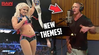 MANY WWE THEMES SONGS BEING REMADE WITH NEW CREATOR (WWE RAW / SD LIVE)