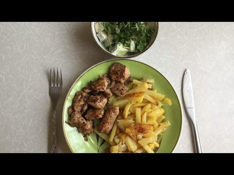 Ужин от хороших людей/Куриная грудка в соусе Ткемали шашлычный/Рецепт от Артёма Баменова