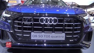 2019 Audi Q8 50 TDI - Exterior And Interior Walkaround - 2018 Paris Motor Show