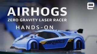 Spin Master AirHogs Zero Gravity Laser Racer Hands-On