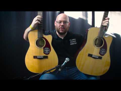 Fender CD-140SCE vs CC-140SCE Comparison