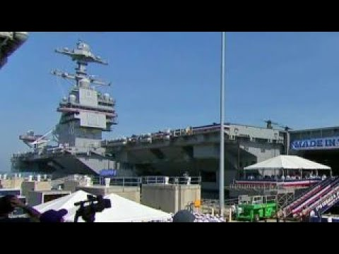 USS Gerald R. Ford features innovative new technology