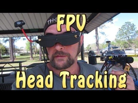 FPV Head Tracking Skyzone Goggles HorizonHD