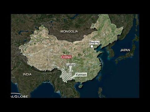 Deadly earthquake hits China