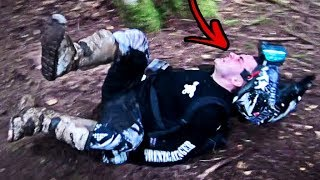 Always close your helmet! - Enduro Fail