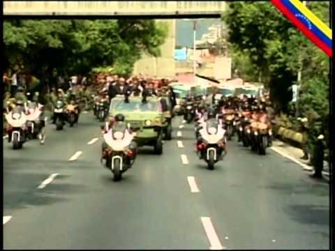 Sepelio del Comandante Chávez parte 6: Traslado desde El Valle hasta 23 de Enero