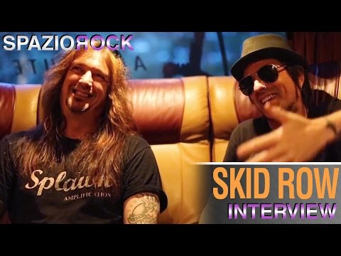 Skid Row - Interview With Dave 'snake' Sabo And Rachel Bolan video