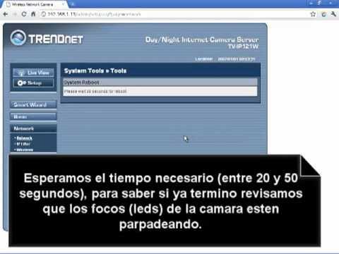 Configurar módem Thomson TG585 V7 de Telmex. abrir puertos para una cámara IP