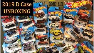 HOT WHEELS - UNBOXING 2019 D Case - Datsun 510, T2, JDM & MORE!!