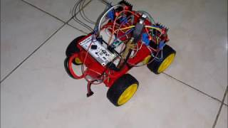 ioio 4×4 bluetooth robot using android phone to control