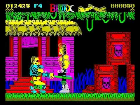 Bronx Walkthrough, ZX Spectrum