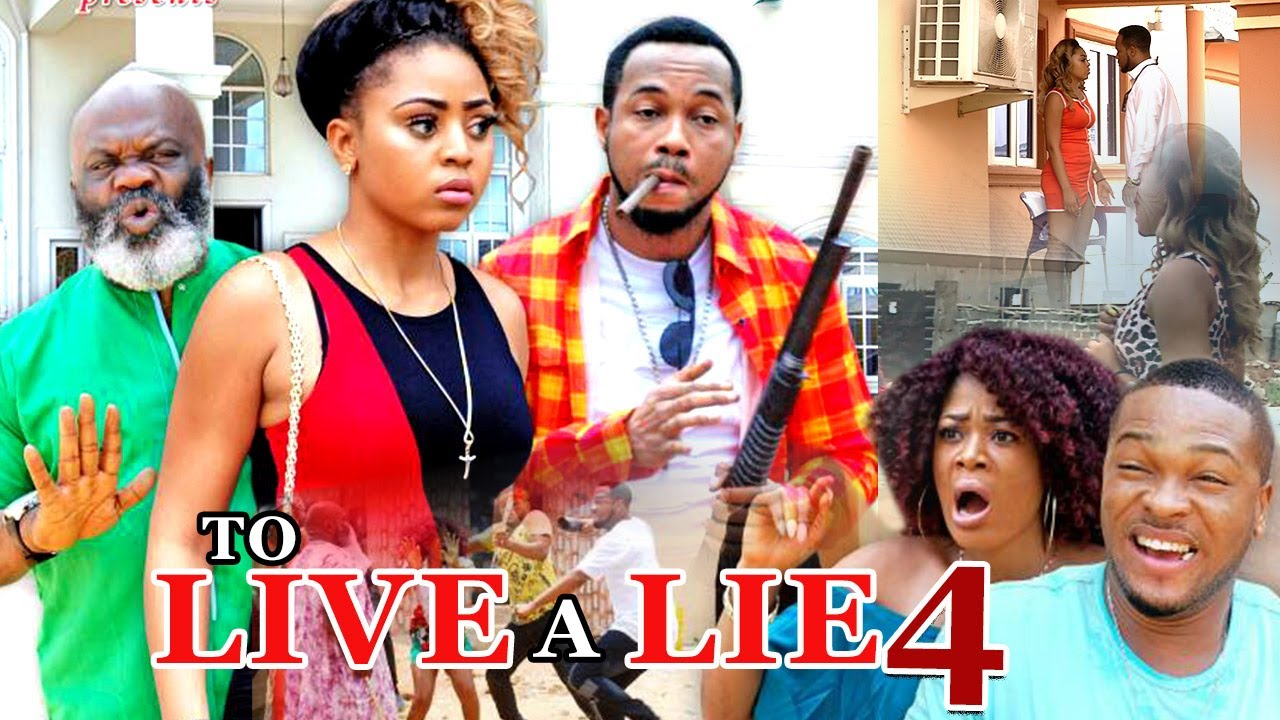 To Live A Lie Nigerian Nollywood Movie [Part 4]