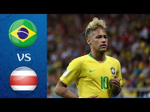 БРАЗИЛИЯ – КОСТА РИКА l ЧЕМПИОНАТ МИРА 2018 FIFA-ВАНГА