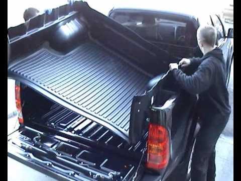 Toyota Hilux Pickup Bed Liner, Truck Load Bed Liner for Hilux - YouTube