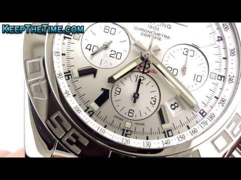 Breitling AB041012 Chronomat GMT In-House B04 (HD Video Review)