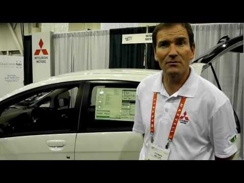 CES 2012 Mistubishi MIEV electric car, a Technewszone overview!!!
