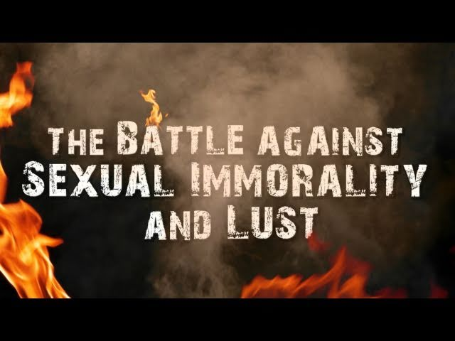 a look at the prevalence of sexual immorality through pornography The fact that sexual immorality is sinful should not lead to despair, but rather hope the god who calls you to flee from sexual immorality has given you legs to run through the gospel of his son sex and the supremacy of christ by john piper and justin taylor at the altar of sexual immorality.