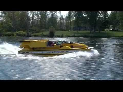 Dobbertin HydroCar - Water Test 4 - Amphibious Vehicle