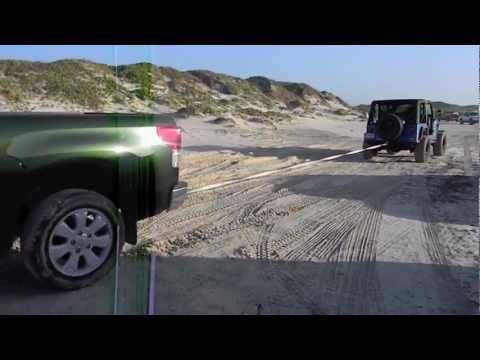 Padre Island National Seashore Jeep Beach Trek