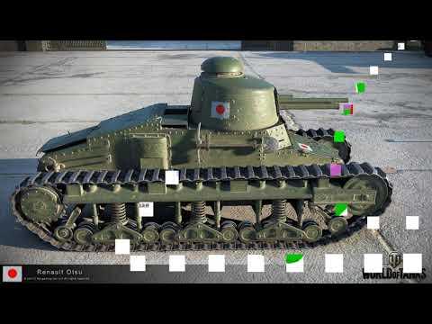 Renault Otsu — World of Tanks  легкий танк, характеристика, обзор, как играть, советы игри!