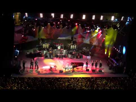 Stevie WONDER Live VIENNE FRANCE 14/07/14 Superstition klip izle