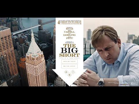 《濤哥侃電影》本屆奧斯卡最佳改編劇本【大空頭】(The Big Short)(大賣空)金融危機 射馬記  人性大曝光 真相如詩 卻沒人喜歡