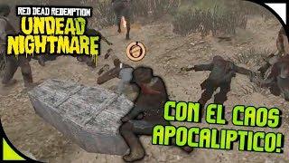Red Dead Redemption - Con el caos apocalíptico 🤢 - Gameplay Español [HD]