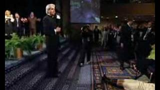 Benny Hinn - 'FIRE' Falling on Audience in New York (1)