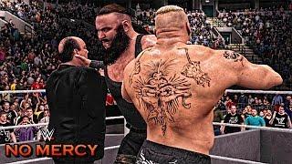 WWE 2K17 No Mercy 2017 - Brock Lesnar vs Braun Strowman Match Highlights!