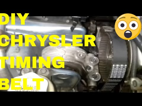 Replacing the Timing Belt on a Dodge Stratus