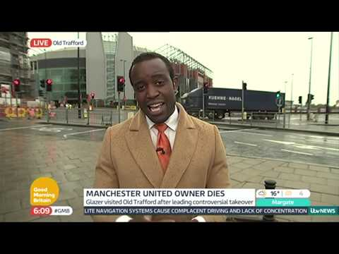 Malcolm Glazer Death | Good Morning Britain