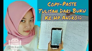 How To Copy Paper From Paper To Smartphone Without Having to Type